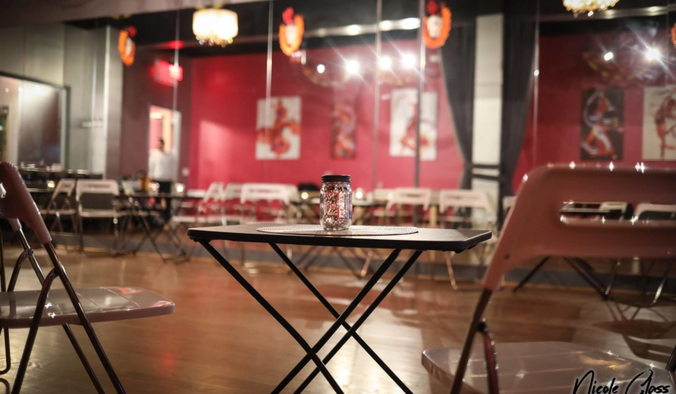 Sip and Dance Speed Dating event at the Salsa With Silvia dance studio: easy dance lesson, wine, appetizers, speed dating