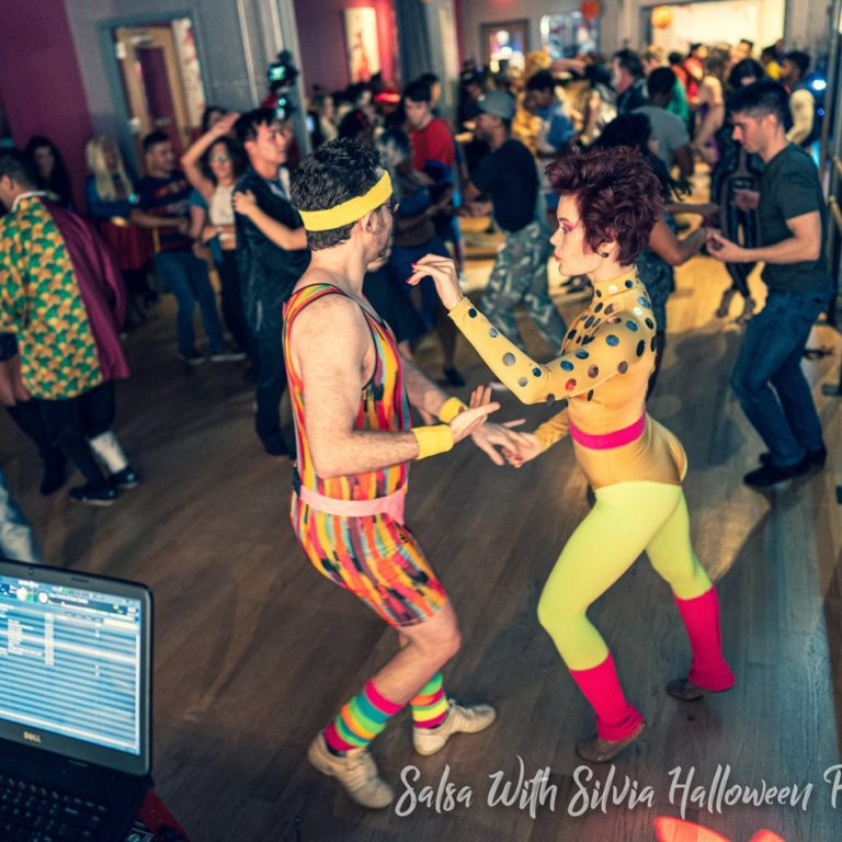 The Salsa With Silvia Halloween Party
