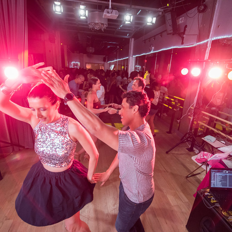 The Salsa With Silvia monthly salsa social dance parties