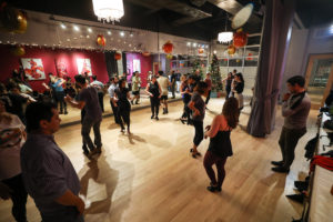 Instructor Joffre's classes are some of the most popular salsa and bachata classes at the Salsa With Silvia dance studio.