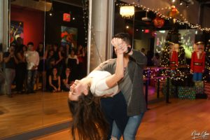 Stephanie Metzger - teaches salsa and bachata at the Salsa With Silvia dance studio