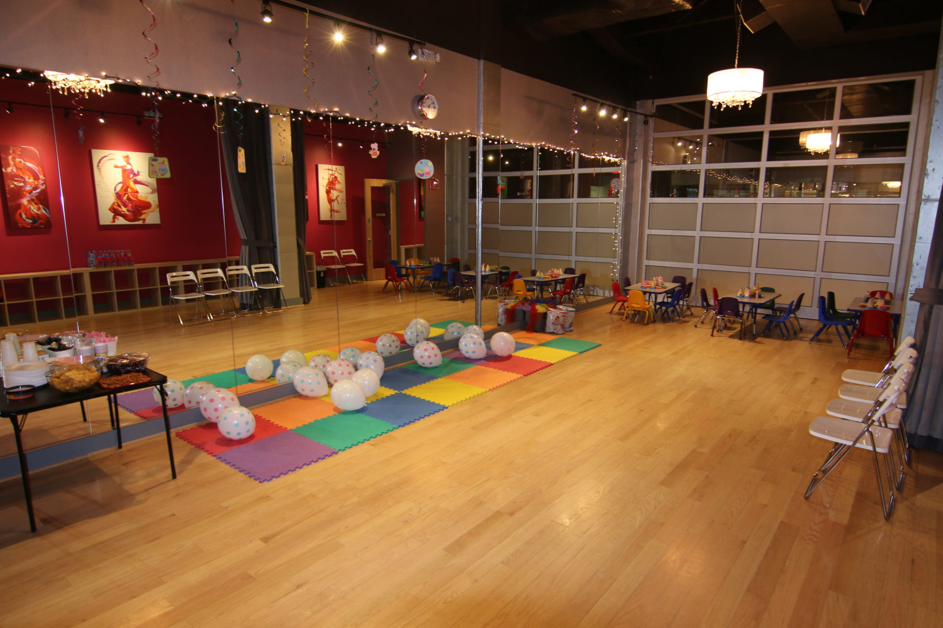 Kids Birthday Parties with dance lessons, arts and crafts, games and more at the Salsa With Silvia Dance Studio