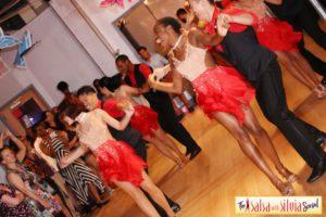 Salsa and bachata dance performances by the Salsa With Silvia dance studio.