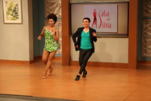 Salsa With Silvia featured on WUSA-9