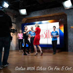 Salsa With Silvia Live on FOX5 With Holly Morris