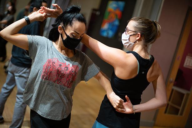 Salsa and Bachata classes at the Salsa With Silvia dance studio in Washington, DC