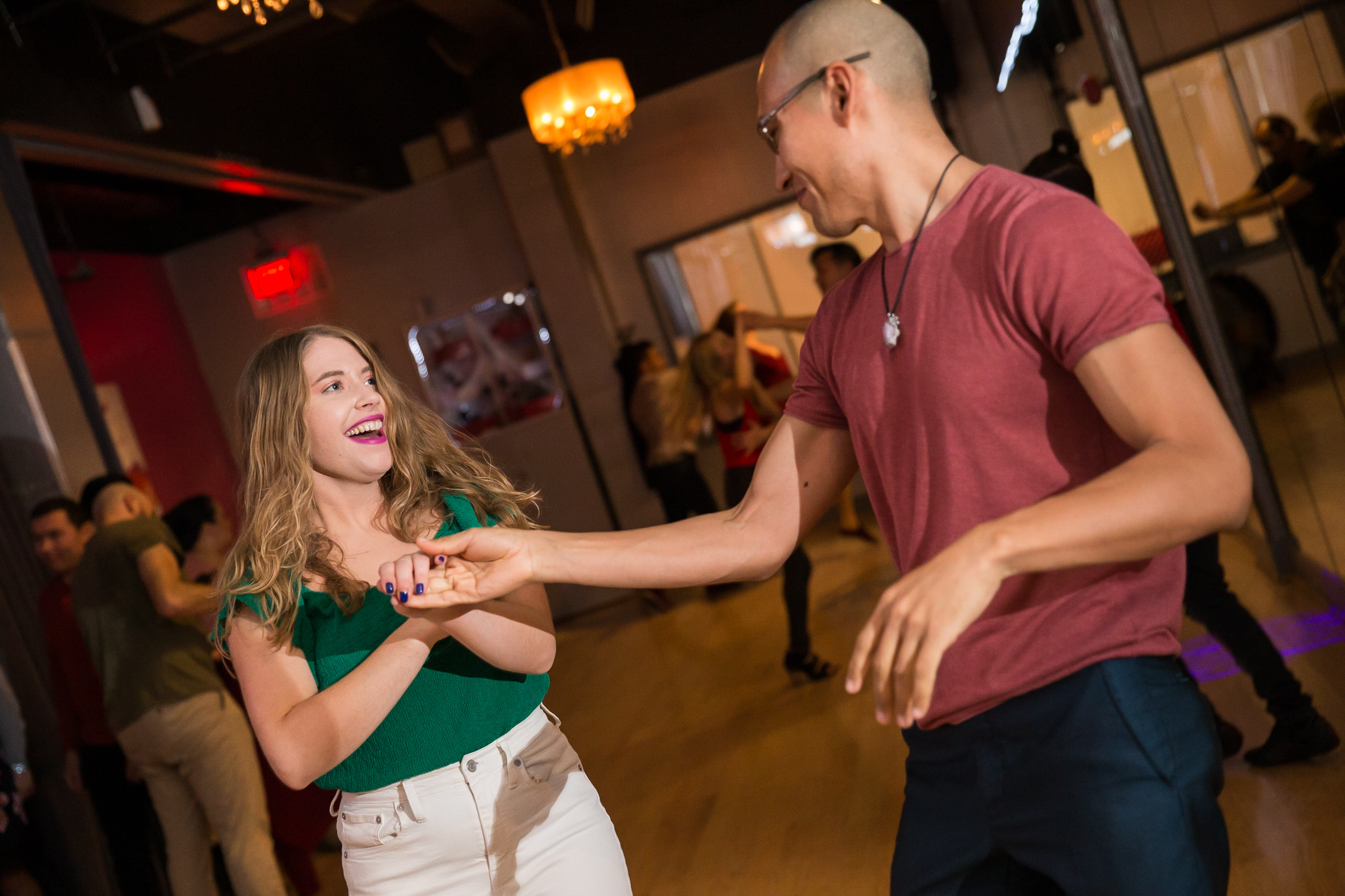 Romantic Valentine's day event in the heart of Bethesa - dance lesson, sweet bites and wine