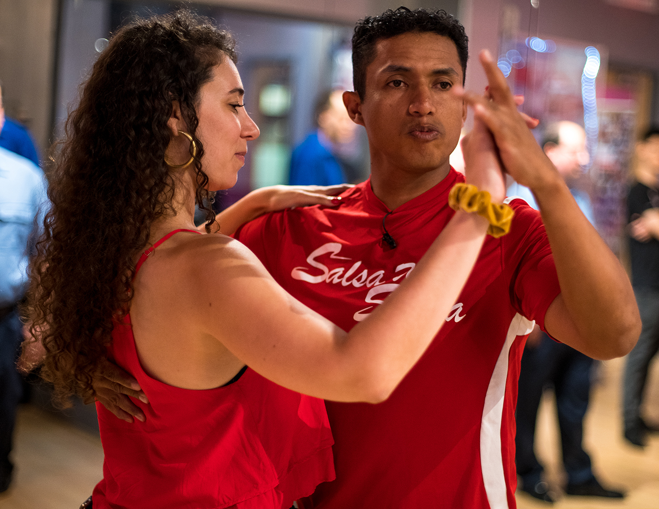 Intermediate - Advanced Salsa On 1 7-Week Specialty Course With Instructor Joffre Arce at the Salsa With Silvia dance studio in DC