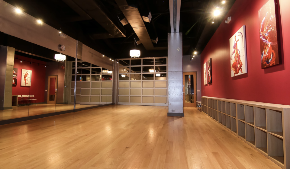 The Salsa With Silvia Ballroom in Washington DC is available for event rentals