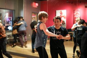 Instructor Mario Cervantes teaches salsa and bachata classes at the Salsa With Silvia dance studio.